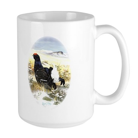Black Grouse Large Mug