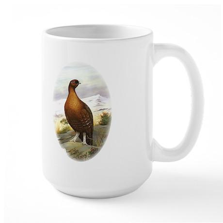 Red Grouse Large Mug
