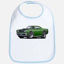 1968 Super Bee Green Car Bib