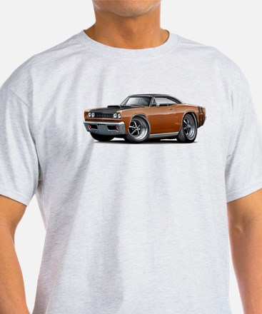 1968 Super Bee Brown Car T-Shirt