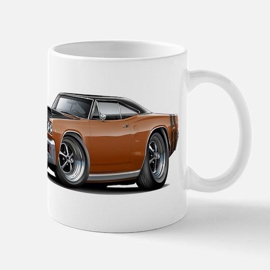 1968 Super Bee Brown Car Mug
