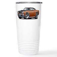 1968 Super Bee Brown Car Travel Mug