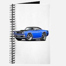 1968 Super Bee Blue-Black Car Journal