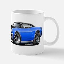 1968 Super Bee Blue-Black Car Mug