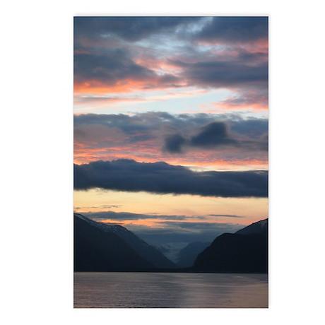 Glacier Bay Sunset Postcards (Package of 8)