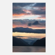 Glacier Bay Sunset Postcards (Package of 8)