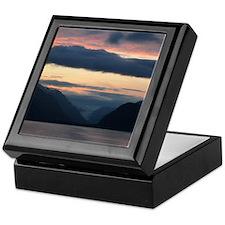 Glacier Bay Sunset Keepsake Box