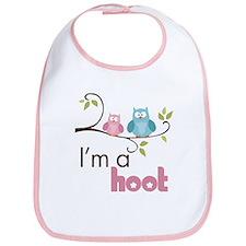 I'm A Hoot Bib
