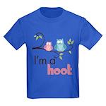 I'm A Hoot Kids Dark T-Shirt