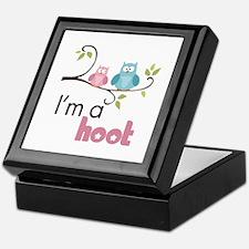 I'm A Hoot Keepsake Box