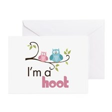I'm A Hoot Greeting Cards (Pk of 10)