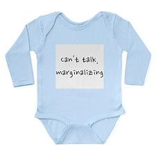 marginalizing Long Sleeve Infant Bodysuit