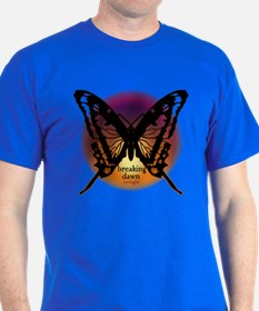 Breaking Dawn Dark Butterfly by Twibaby T-Shirt