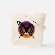 Breaking Dawn Dark Butterfly by Twibaby Tote Bag