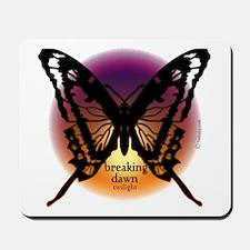 Breaking Dawn Dark Butterfly by Twibaby Mousepad