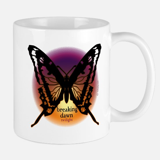 Breaking Dawn Dark Butterfly by Twibaby Mug