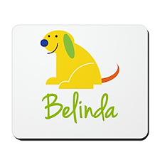 Belinda Loves Puppies Mousepad