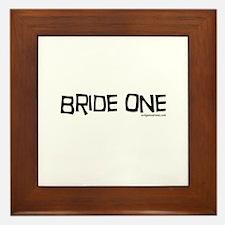 Bride one Framed Tile