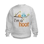 I'm A Hoot Kids Sweatshirt