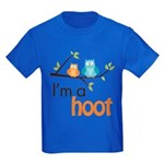 I'm A Hoot Kids Dark T-Shirt