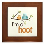 I'm A Hoot Framed Tile