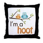 I'm A Hoot Throw Pillow