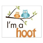 I'm A Hoot Small Poster