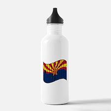 Phoenix AZ Flag Water Bottle