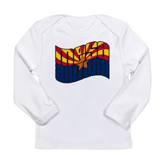 Mesa AZ Flag Long Sleeve Infant T-Shirt