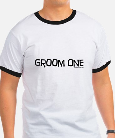 Groom one funny wedding T