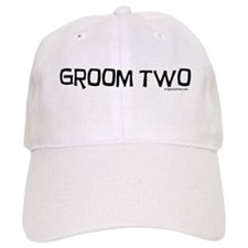 Groom two funny wedding Baseball Cap