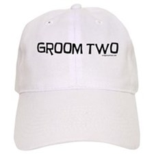 Groom two funny wedding Cap