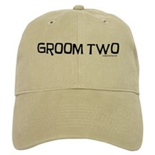 Groom two funny wedding Cap
