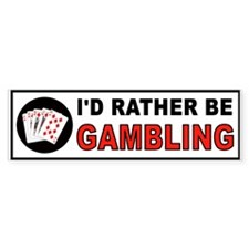 Cute Video poker royal Bumper Sticker