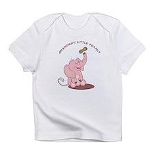Grandma's Little Peanut - Pink Infant T-Shirt