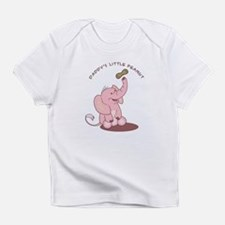 Daddy's Little Peanut - Pink Infant T-Shirt