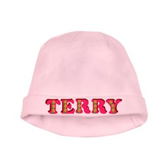 Terry baby hat