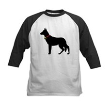 Christmas or Holiday German Shepherd Silhouette Ki