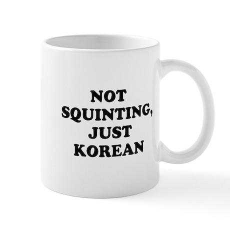 Not Squinting Mug