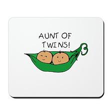 Aunt of Twins Pod Mousepad