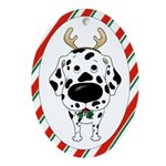 Dalmatian Antler Ornament (Oval)