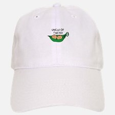 Uncle of Twins Pods Baseball Baseball Cap