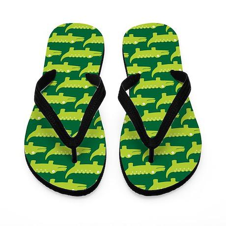 Alligator Cute Flip Flops