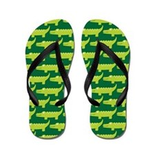 Alligator Cute Flip Flops