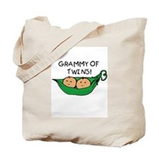 Grammy of Twins Pod Tote Bag