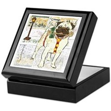 Holiday Pug Jewelry Box