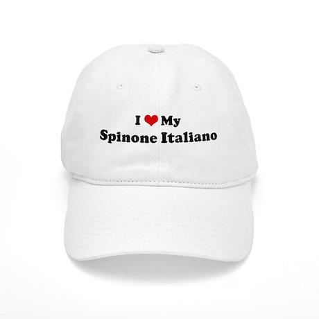 I Love Spinone Italiano Cap