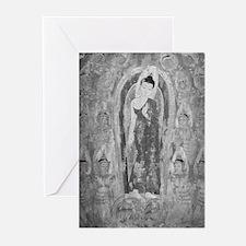 Many Deities BW Greeting Cards (Pk of 10)