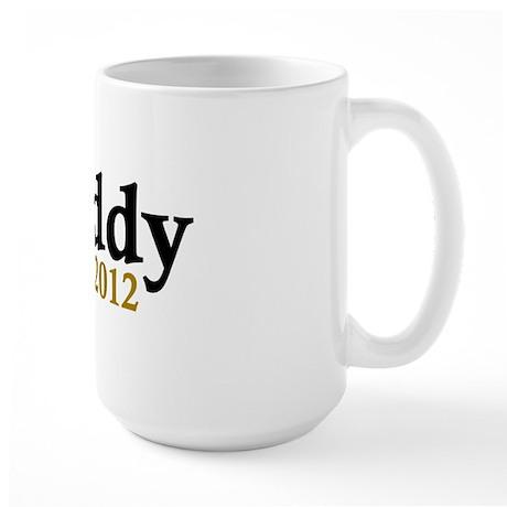 Daddy Est 2012 Large Mug