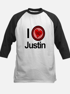 I Love Justin Brothers & Sisters Tee